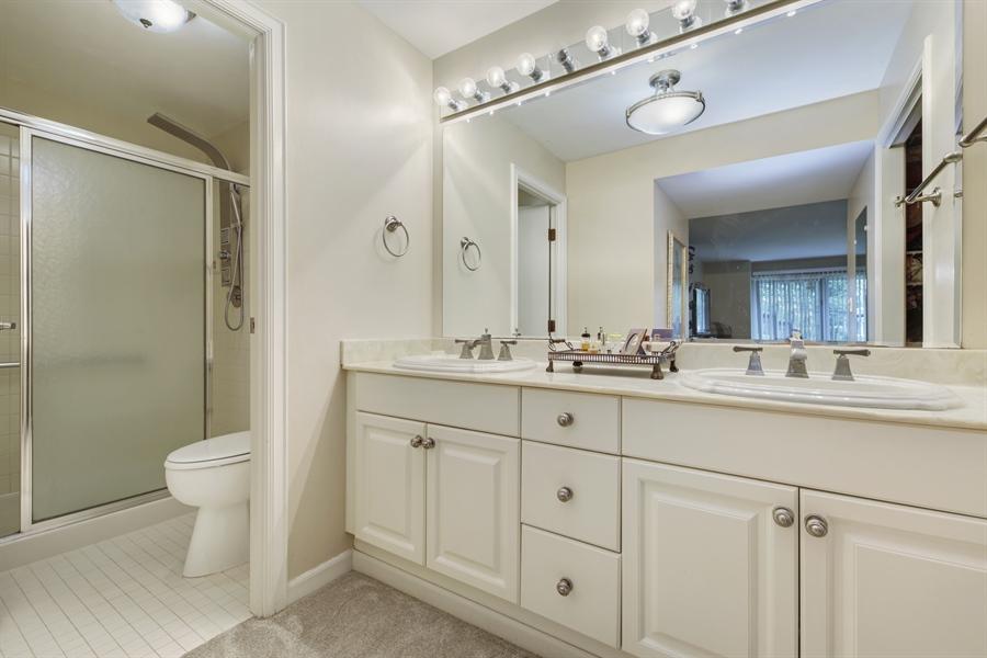 Real Estate Photography - 2 Oak Brook Club Drive, C107, Oak Brook, IL, 60523 - Master Bathroom