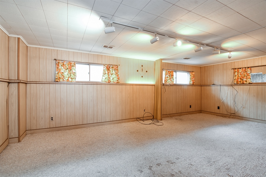Real Estate Photography - 5519 Main St, Morton Grove, IL, 60053 - Basement
