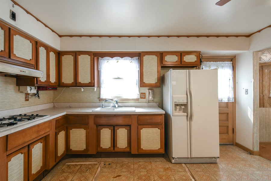 Real Estate Photography - 5519 Main St, Morton Grove, IL, 60053 - Kitchen