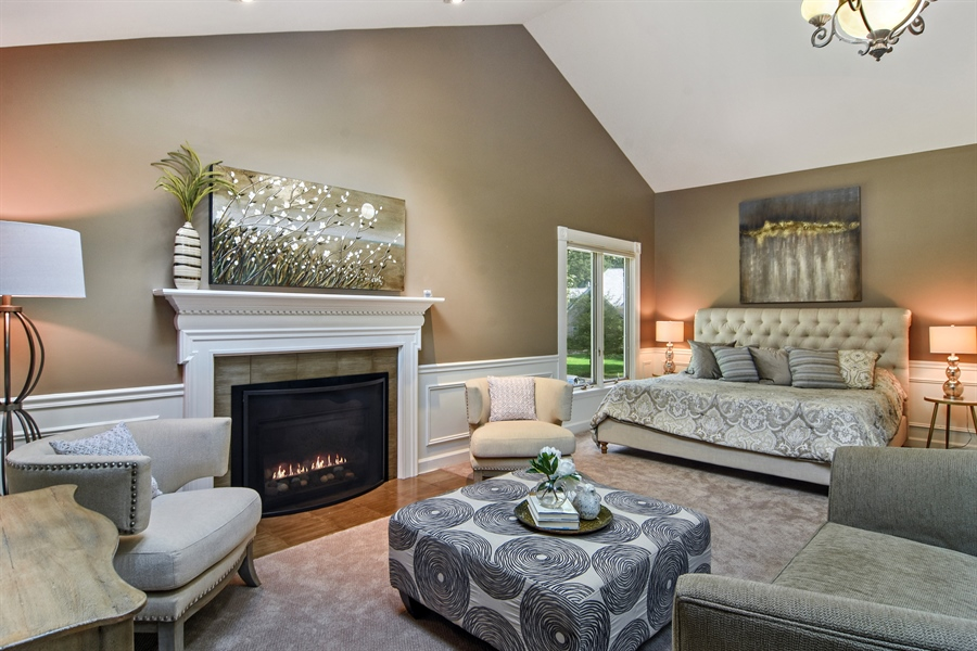 Real Estate Photography - 4741 Wellington, Long Grove, IL, 60047 - Master Bedroom