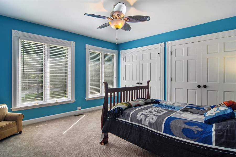Real Estate Photography - 4741 Wellington, Long Grove, IL, 60047 - 3rd Bedroom