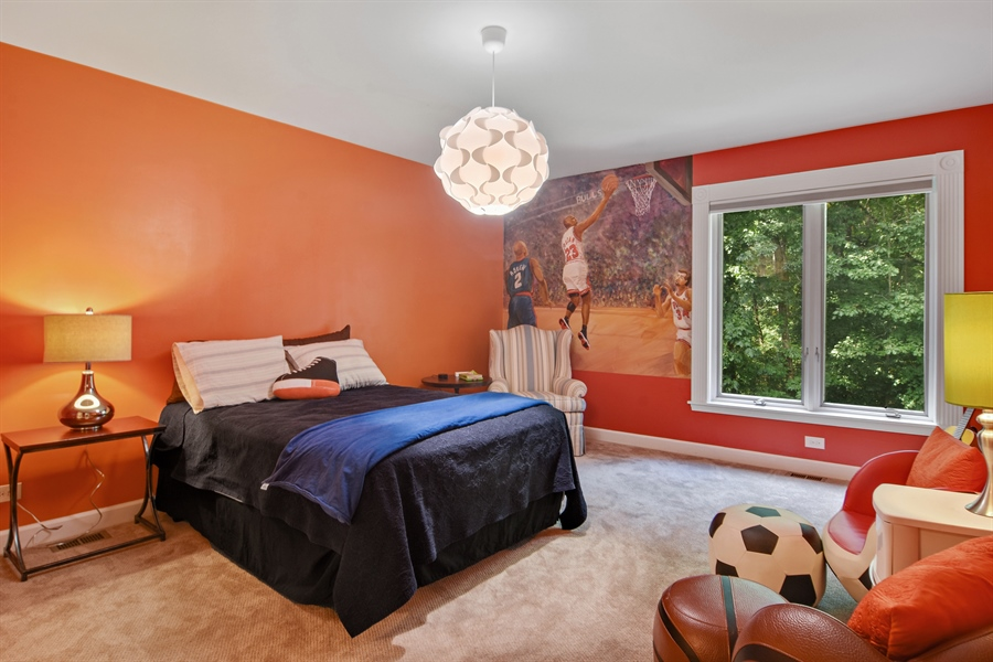 Real Estate Photography - 4741 Wellington, Long Grove, IL, 60047 - 4th Bedroom