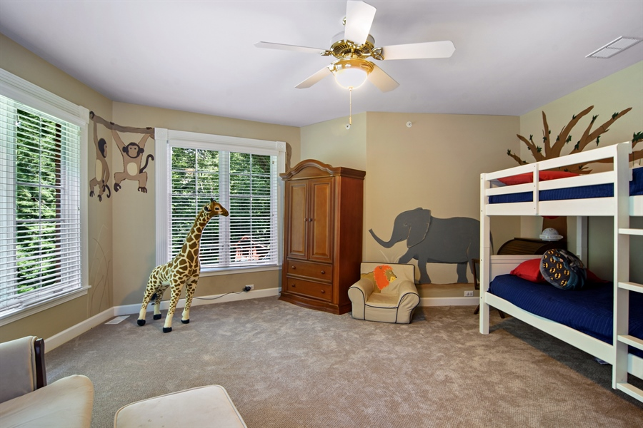 Real Estate Photography - 4741 Wellington, Long Grove, IL, 60047 - 5th Bedroom