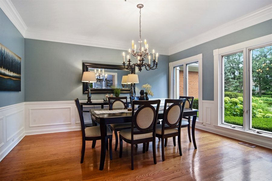 Real Estate Photography - 4741 Wellington, Long Grove, IL, 60047 - Dining Room