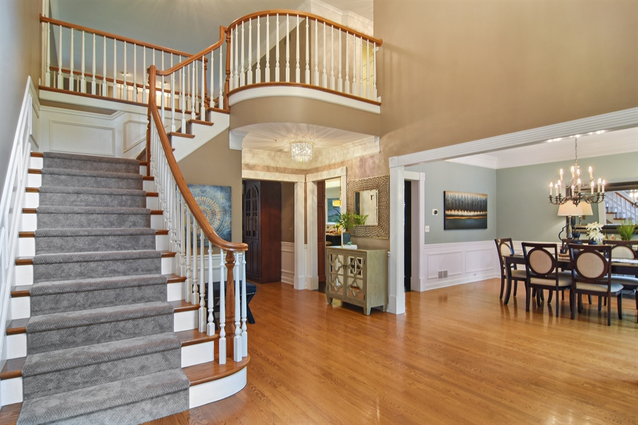 Real Estate Photography - 4741 Wellington, Long Grove, IL, 60047 - Foyer