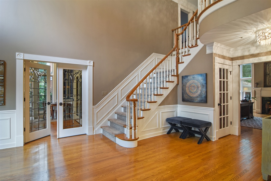 Real Estate Photography - 4741 Wellington, Long Grove, IL, 60047 - Entryway