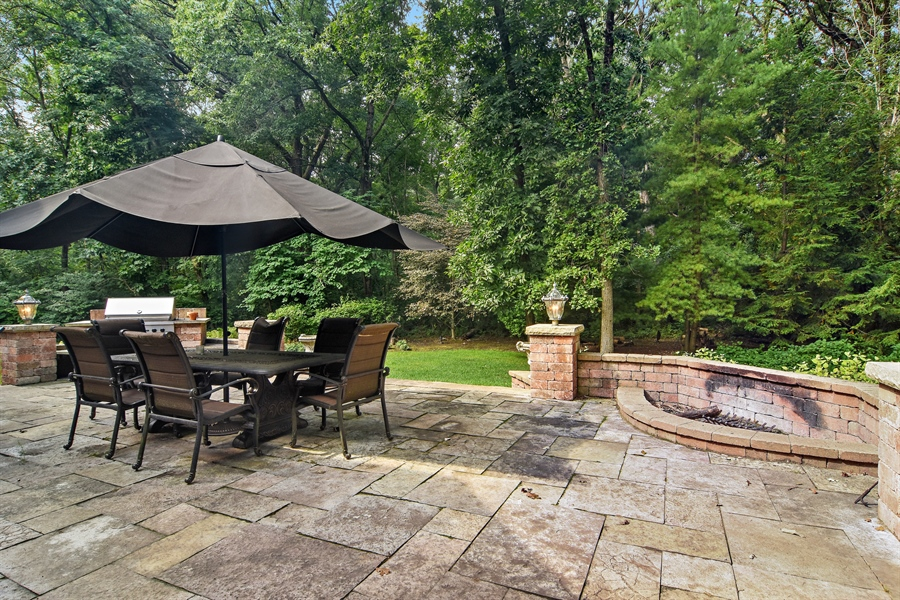 Real Estate Photography - 4741 Wellington, Long Grove, IL, 60047 - Patio