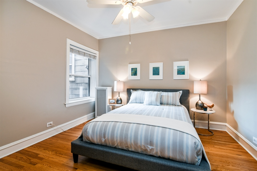 Real Estate Photography - 1655 W Olive Ave, 1W, Chicago, IL, 60660 - 2nd Bedroom