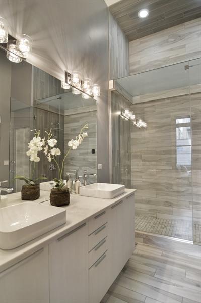 Real Estate Photography - 1522 Cortez St., 1, Chicago, IL, 60642 - Master Bathroom