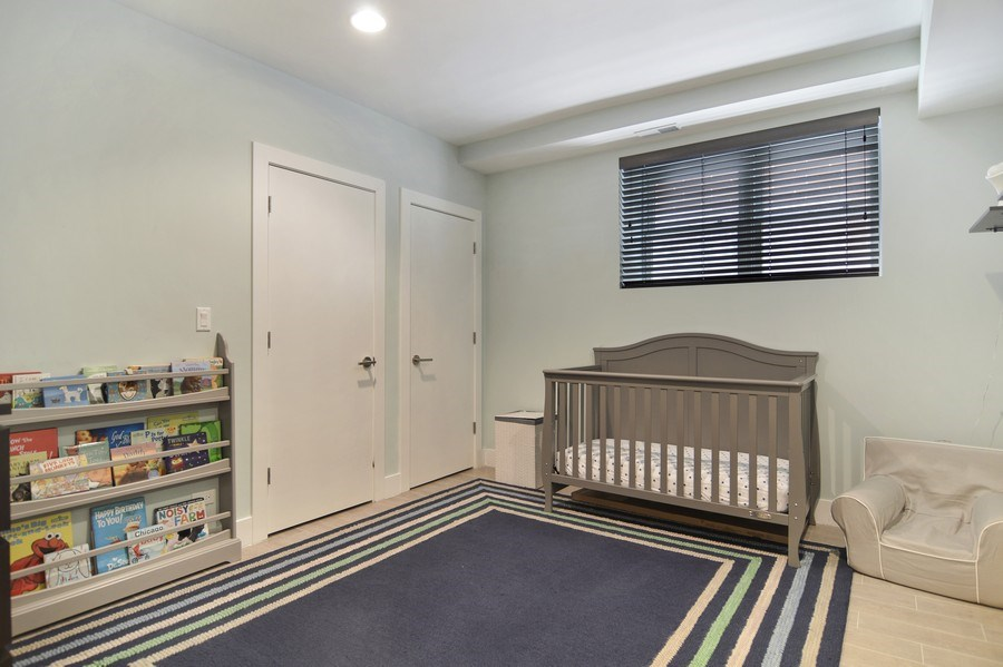 Real Estate Photography - 1522 Cortez St., 1, Chicago, IL, 60642 - 3rd Bedroom