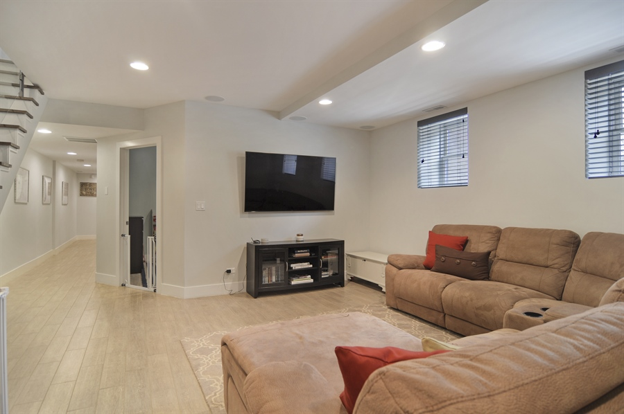 Real Estate Photography - 1522 Cortez St., 1, Chicago, IL, 60642 - Lower Level