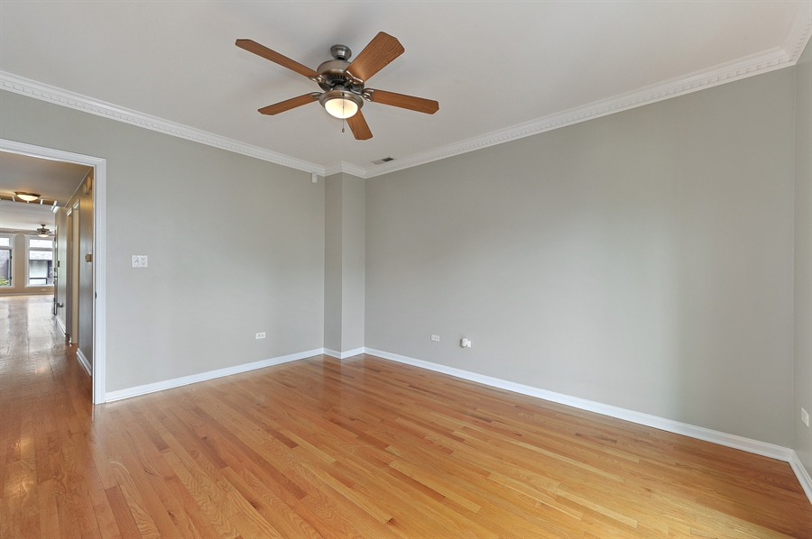 Real Estate Photography - 1012 N. Wood, 2, Chicago, IL, 60622 - Master Bedroom