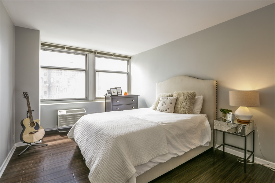 Real Estate Photography - 30 E Elm St, 16C, Chicago, IL, 60611 - Bedroom