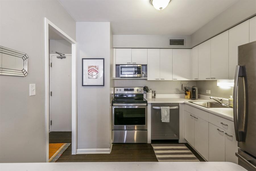 Real Estate Photography - 30 E Elm St, 16C, Chicago, IL, 60611 - Kitchen