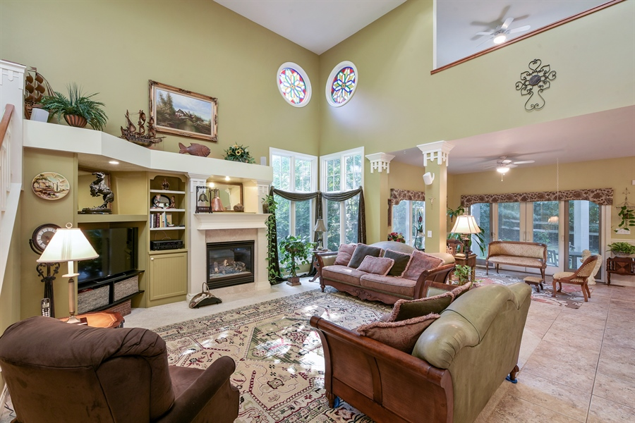 Real Estate Photography - 11608 Marquette Drive, New Buffalo, MI, 49117 - Living Room