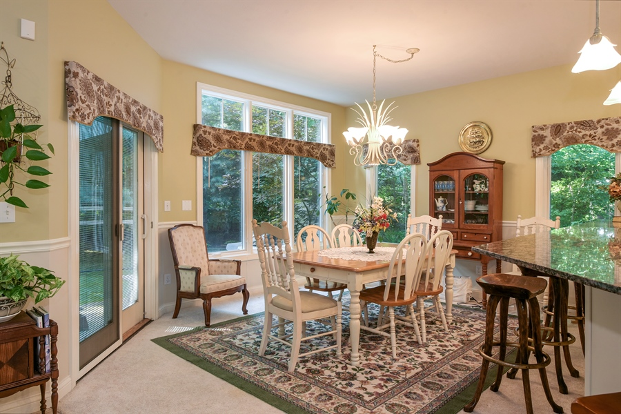 Real Estate Photography - 11608 Marquette Drive, New Buffalo, MI, 49117 - Dining Room