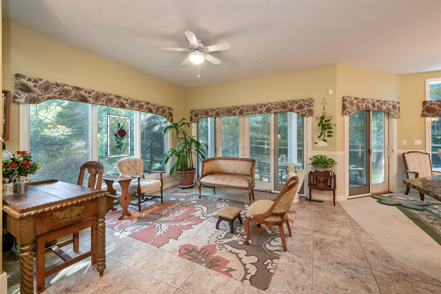 Real Estate Photography - 11608 Marquette Drive, New Buffalo, MI, 49117 - Sun Room