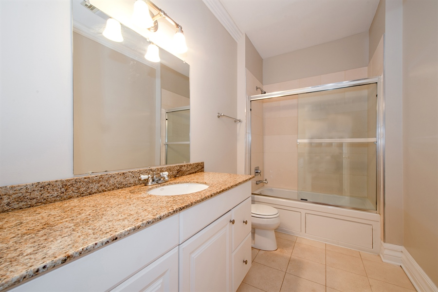 Real Estate Photography - 1735 W. Newport Ave, Chicago, IL, 60657 - 4th Bathroom