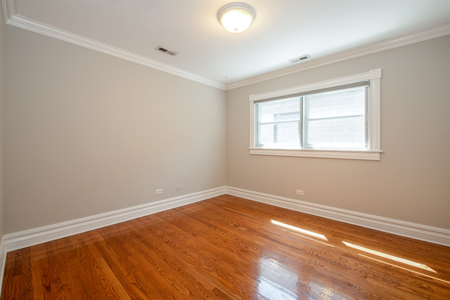 Real Estate Photography - 1735 W. Newport Ave, Chicago, IL, 60657 - 3rd Bedroom