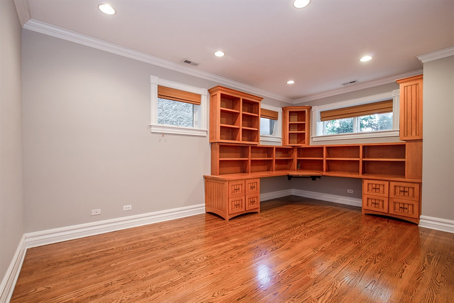 Real Estate Photography - 1735 W. Newport Ave, Chicago, IL, 60657 - 4th Bedroom
