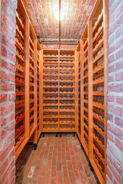 Real Estate Photography - 1735 W. Newport Ave, Chicago, IL, 60657 - Wine Cellar