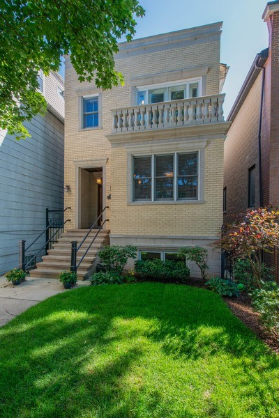Real Estate Photography - 1735 W. Newport Ave, Chicago, IL, 60657 - Front Yard