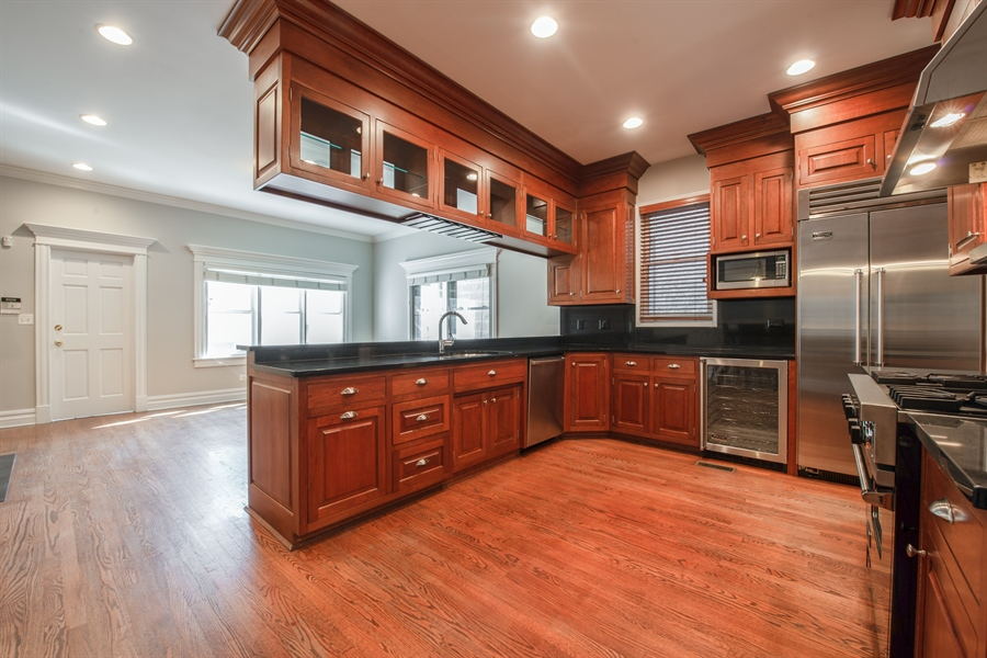 Real Estate Photography - 1735 W. Newport Ave, Chicago, IL, 60657 - Chefs Kitchen