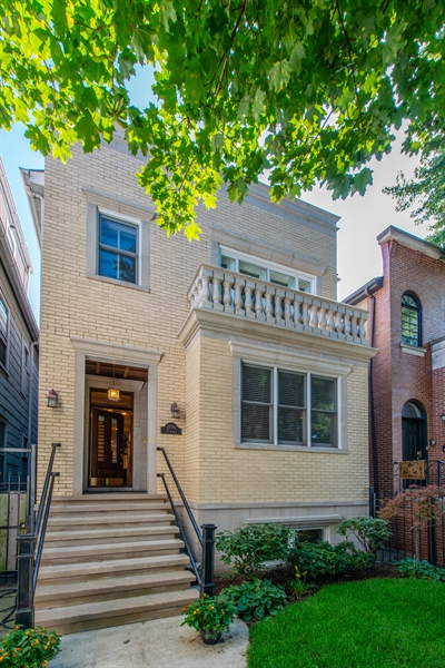 Real Estate Photography - 1735 W. Newport Ave, Chicago, IL, 60657 - Front View
