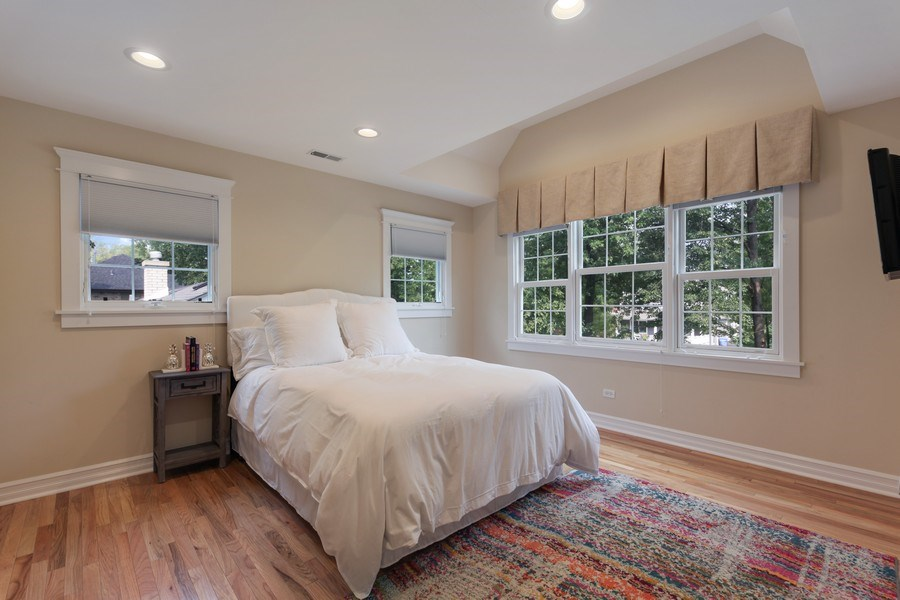 Real Estate Photography - 1352 Cavell, Highland Park, IL, 60035 - 2nd Bedroom