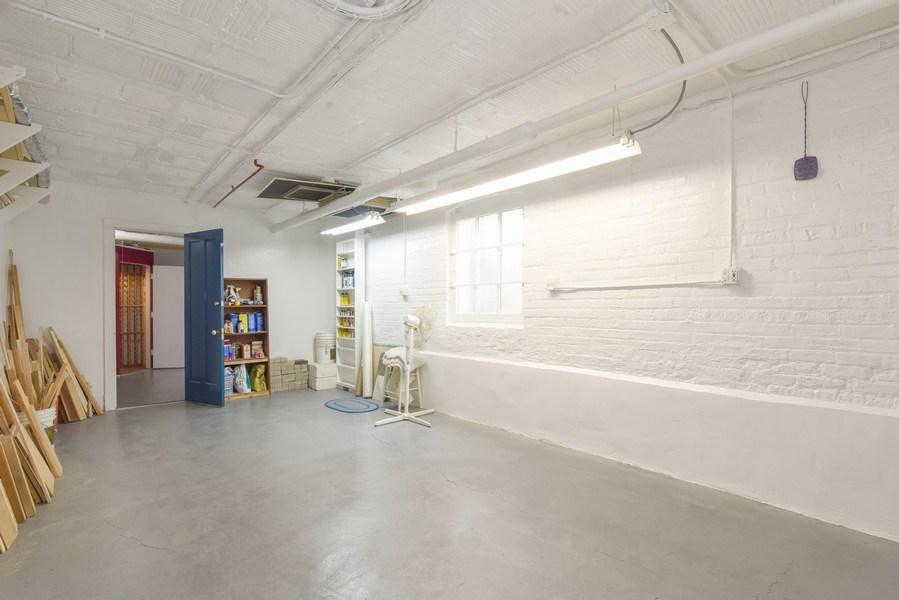 Real Estate Photography - 642 Sheridan Pl, 3, Evanston, IL, 60202 - Personal Storage/Workshop in Basement