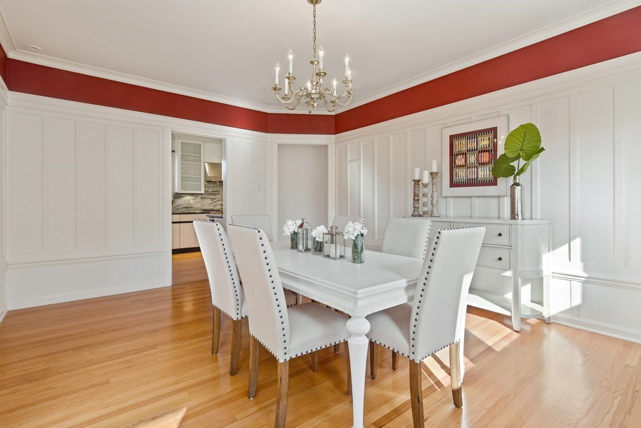 Real Estate Photography - 642 Sheridan Pl, 3, Evanston, IL, 60202 - Dining Area