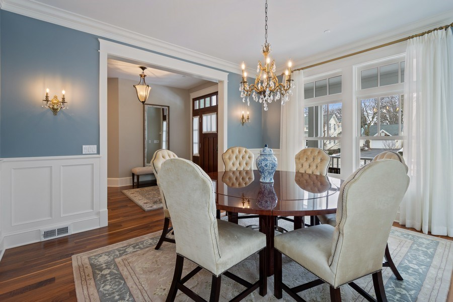 Real Estate Photography - 308 S Cook St, Barrington, IL, 60010 - Dining Room