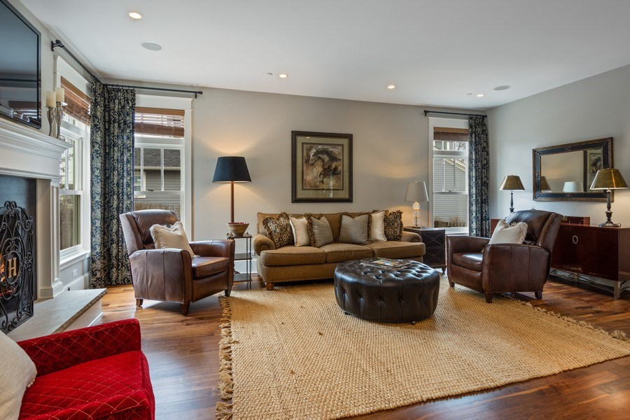 Real Estate Photography - 308 S Cook St, Barrington, IL, 60010 - Family Room