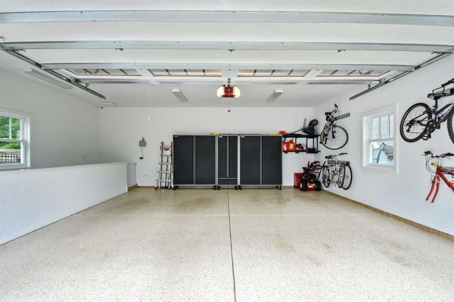 Real Estate Photography - 308 S Cook St, Barrington, IL, 60010 - Garage