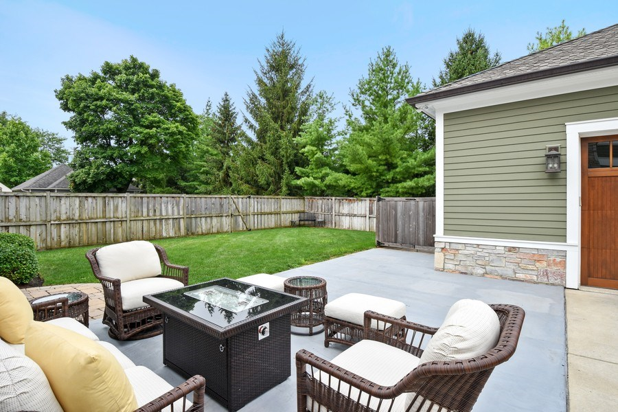 Real Estate Photography - 308 S Cook St, Barrington, IL, 60010 - Patio