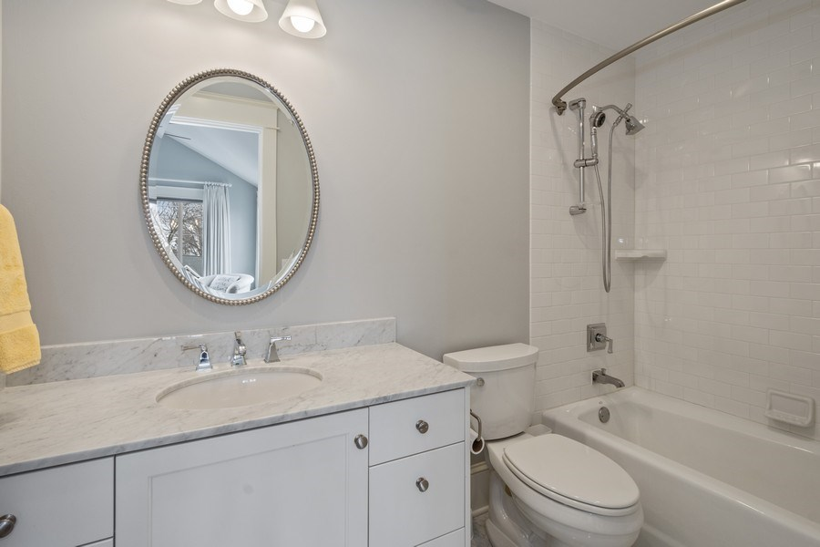 Real Estate Photography - 308 S Cook St, Barrington, IL, 60010 - 2nd Bathroom