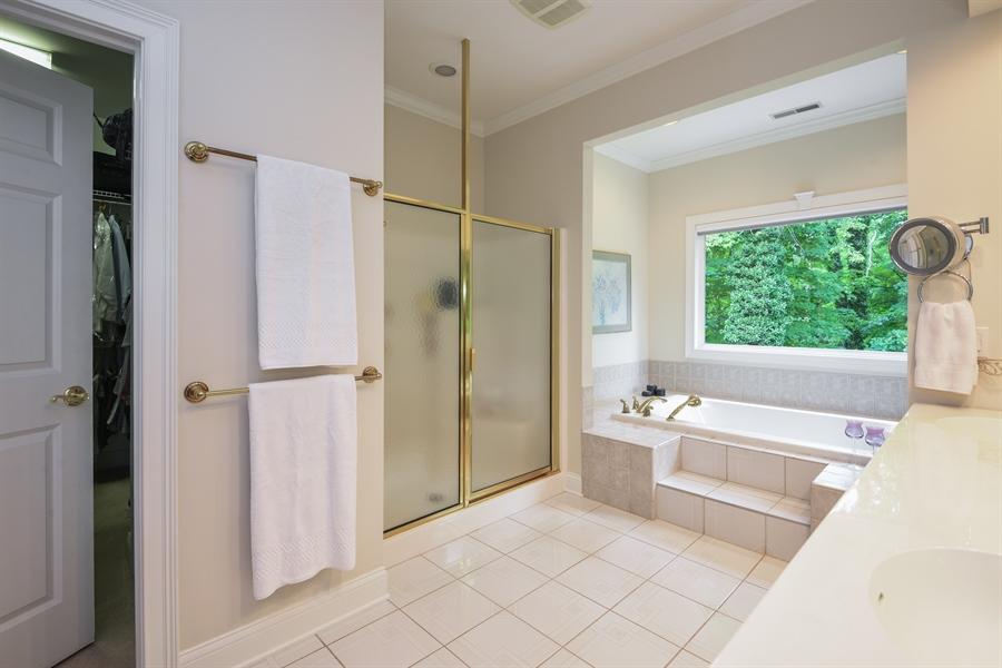 Real Estate Photography - 2383 Autumn Ridge, Saint Joseph, MI, 49085 - Master Bathroom