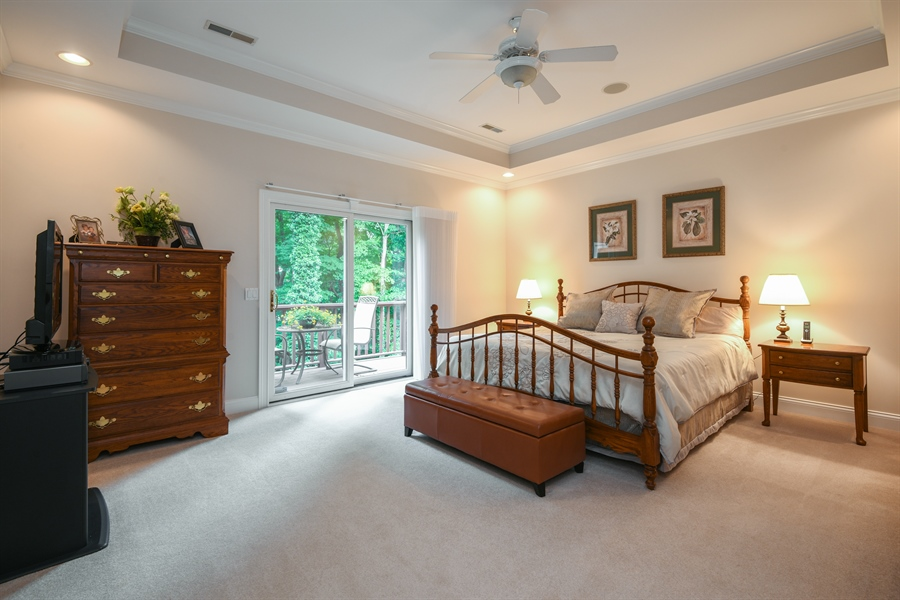 Real Estate Photography - 2383 Autumn Ridge, Saint Joseph, MI, 49085 - Master Bedroom