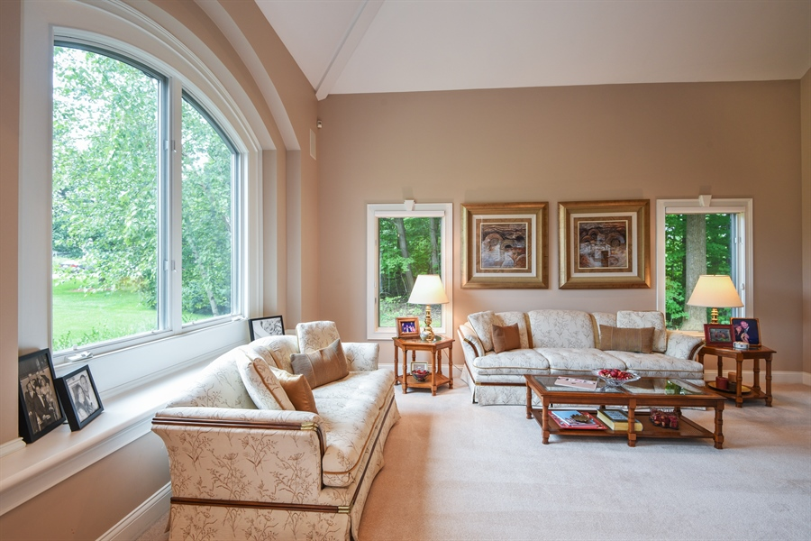 Real Estate Photography - 2383 Autumn Ridge, Saint Joseph, MI, 49085 - Sitting Room