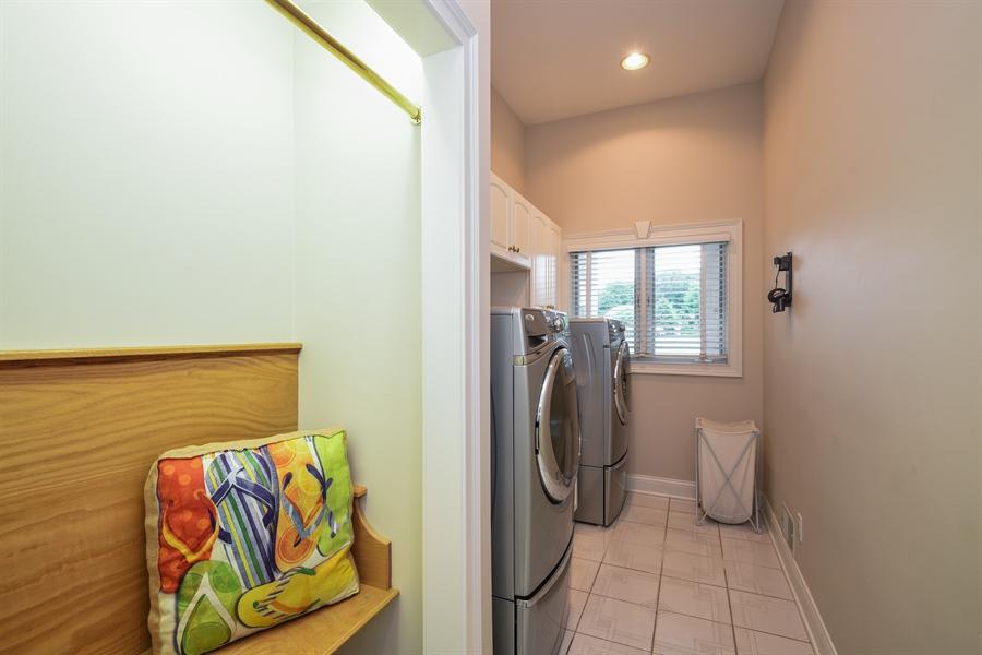 Real Estate Photography - 2383 Autumn Ridge, Saint Joseph, MI, 49085 - Laundry Room