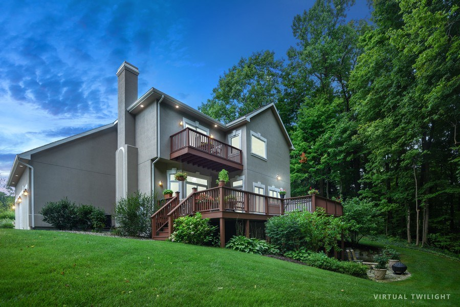 Real Estate Photography - 2383 Autumn Ridge, Saint Joseph, MI, 49085 - Rear View