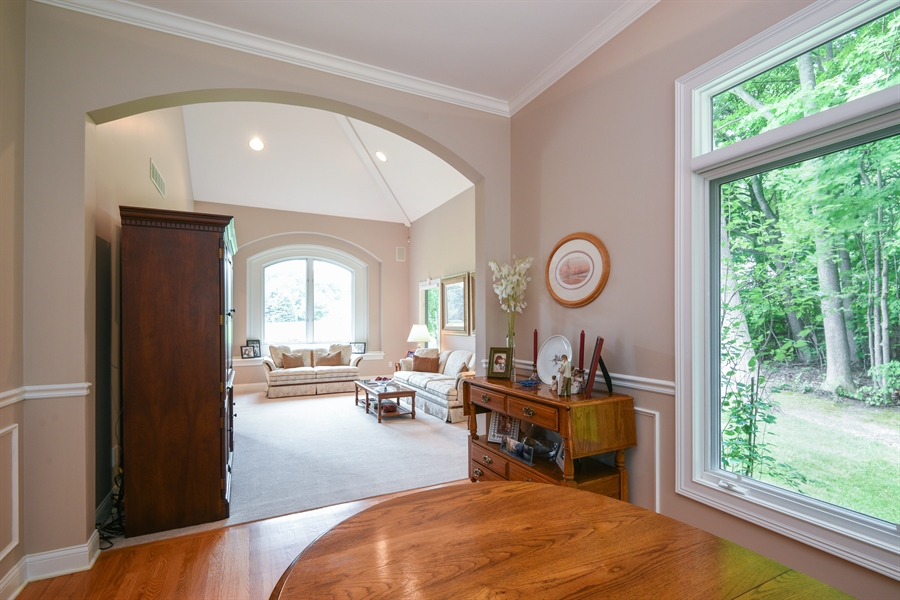 Real Estate Photography - 2383 Autumn Ridge, Saint Joseph, MI, 49085 - Living Room / Dining Room