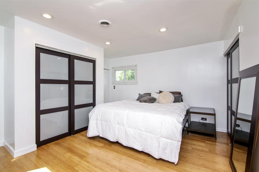 Real Estate Photography - 323 Neva Ave, Glenview, IL, 60025 - Master Bedroom