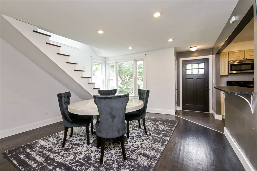 Real Estate Photography - 323 Neva Ave, Glenview, IL, 60025 - Dining Room
