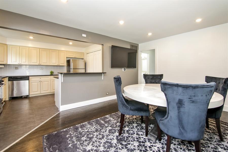 Real Estate Photography - 323 Neva Ave, Glenview, IL, 60025 - Kitchen/Dining