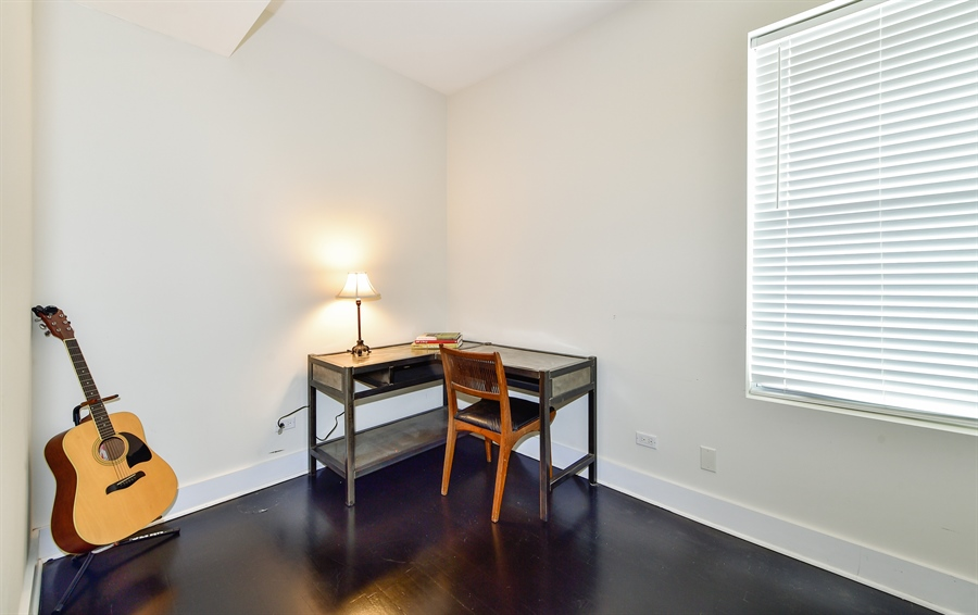 Real Estate Photography - 2052 N Campbell, Chicago, IL, 60647 - Bedroom