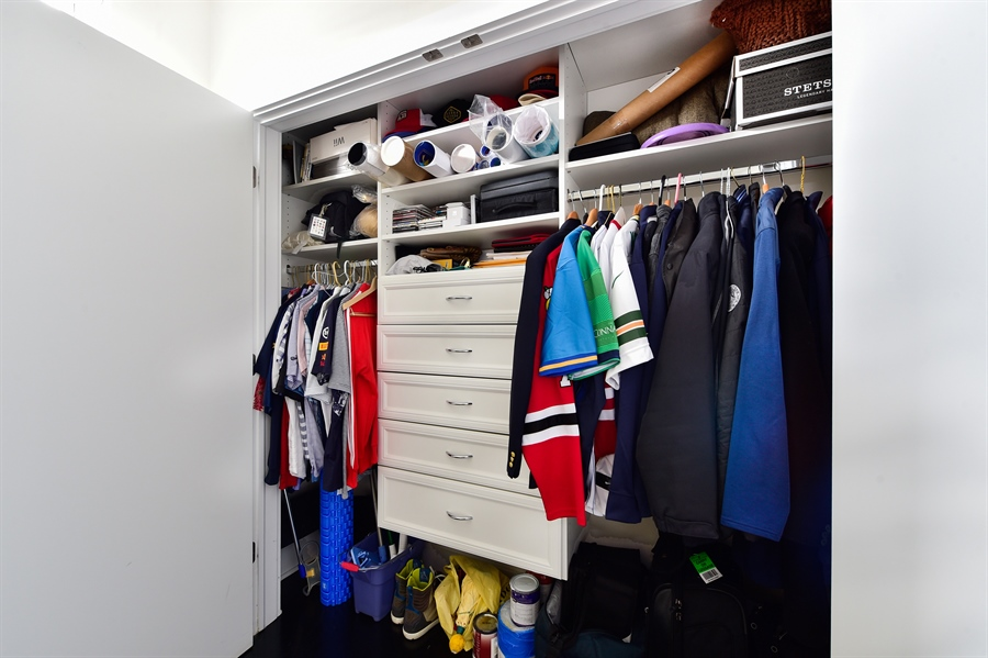 Real Estate Photography - 2052 N Campbell, Chicago, IL, 60647 - Closet