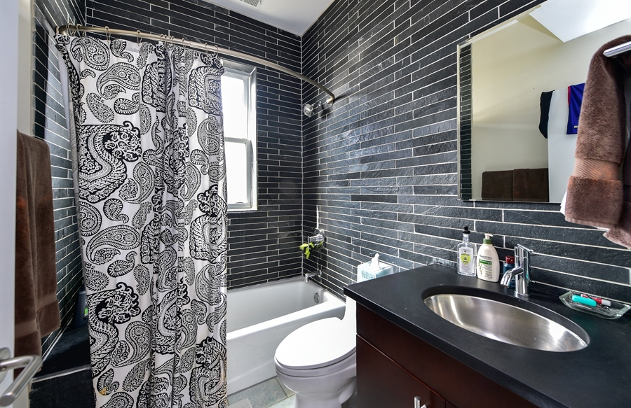 Real Estate Photography - 2052 N Campbell, Chicago, IL, 60647 - Bathroom