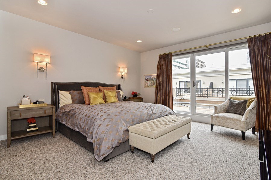 Real Estate Photography - 1816 S Indiana, Unit F, Chicago, IL, 60616 - Master Bedroom