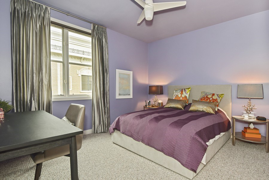 Real Estate Photography - 1816 S Indiana, Unit F, Chicago, IL, 60616 - 2nd Bedroom